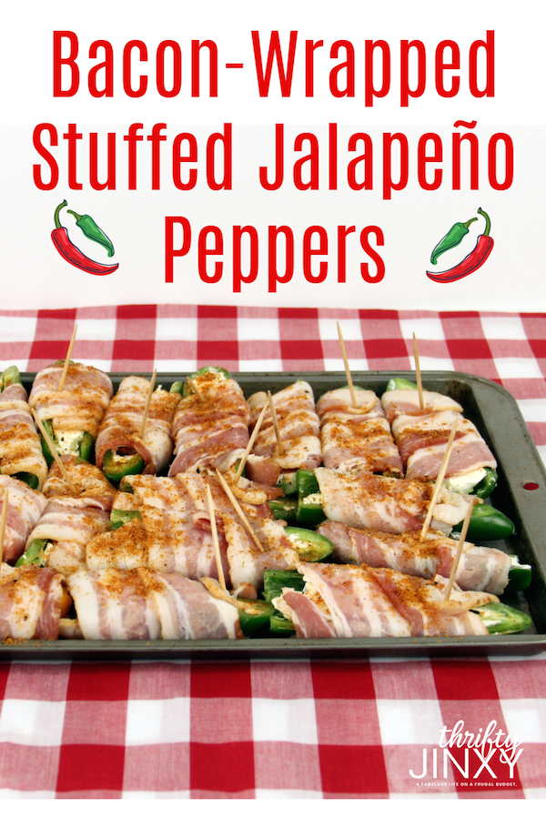 Bacon-Wrapped Stuffed Jalapeno Peppers