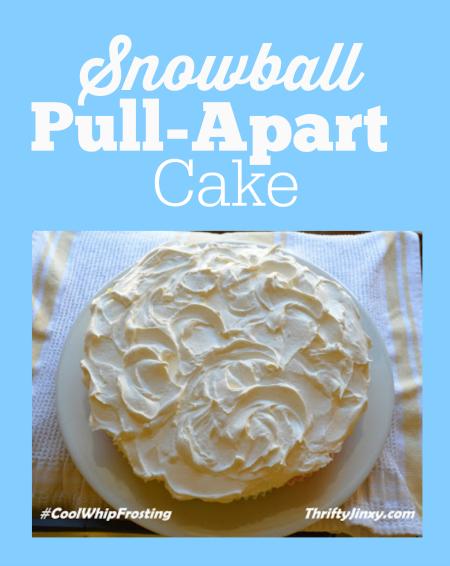 Snowball Pull-Apart Cake Recipe