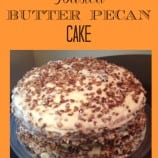 Toasted Butter Pecan Cake Recipe – YUM!!