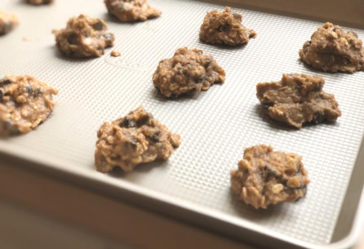 Oatmeal Breakfast Cookies Process