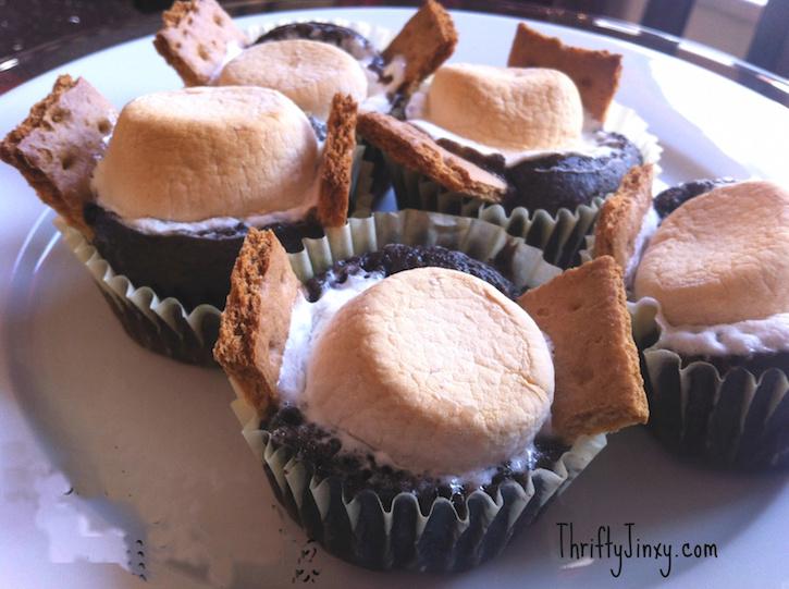 smores cupcakes recipes