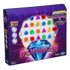 Play Bejeweled 'In Real Life' with the New Board Game from Hasbro – Review and Reader Giveaway