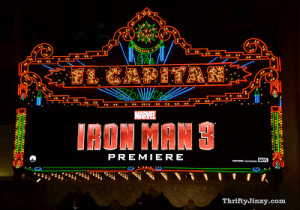 Iron Man 3 Premiere Guest List Released – What a Line-Up! #IronMan3Event