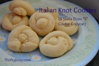 Stella D'Oro S Cookie Copycat Recipe – Italian Knot Cookies