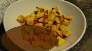 Easy Crispy Home Fries in the Oven
