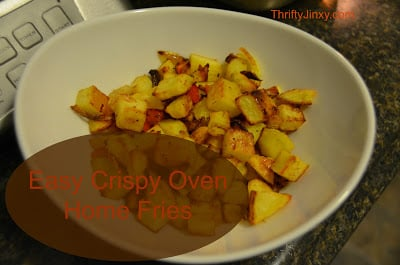 Easy Crispy Home Fries in the Oven Recipe – YUM!