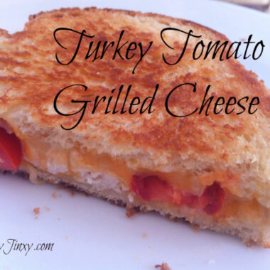 Turkey Tomato Grilled Cheese Sandwich