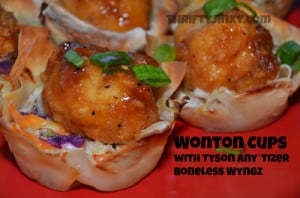 Easy Wonton Cups Recipe