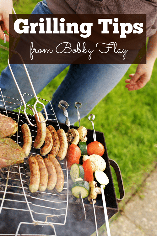 These handy grilling tips from Chef Bobby Flay will help you make some great burgers during this summer's barbecue season. And while these tips are geared toward grilling burgers, you can tweak them a bit to use them for steak, chicken and even fish to some extent.