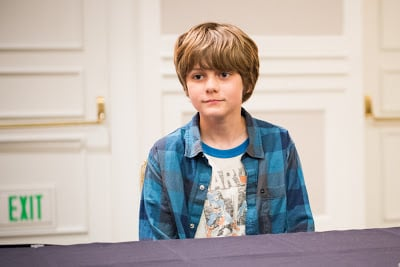 An Interview with Ty Simpkins, Young Iron Man 3 Star #IronMan3Event