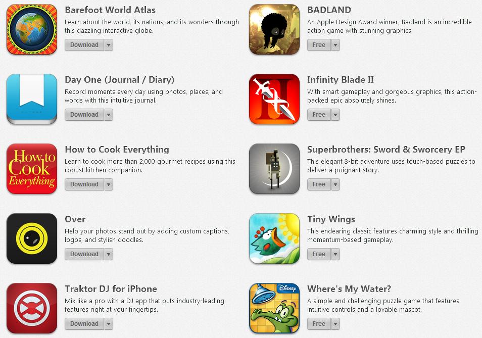 Free Apps Apple Anniversary