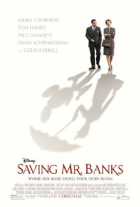 Saving Mr. Banks Coming to Theaters December 2013