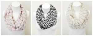 chevron scarves