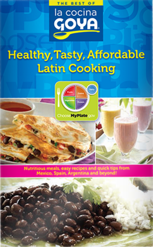 Goya Healthy Tasty Affordable Latin Cooking Cookbook