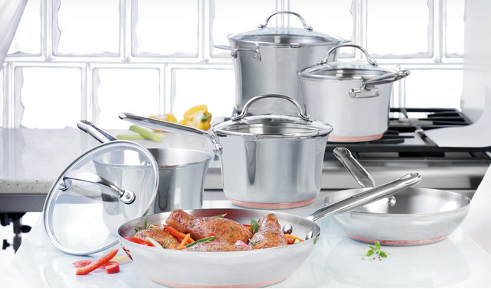 Kitchenaid stainless steel cookware open stock burglary