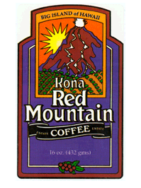 Free Kona Red Mountain Coffee Sample