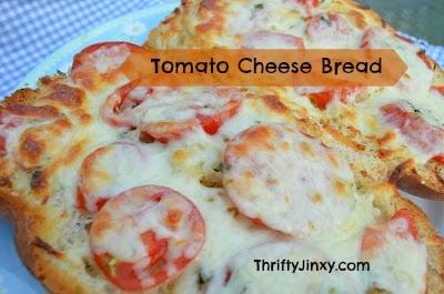 Fabulous Tomato Cheese Bread Recipe