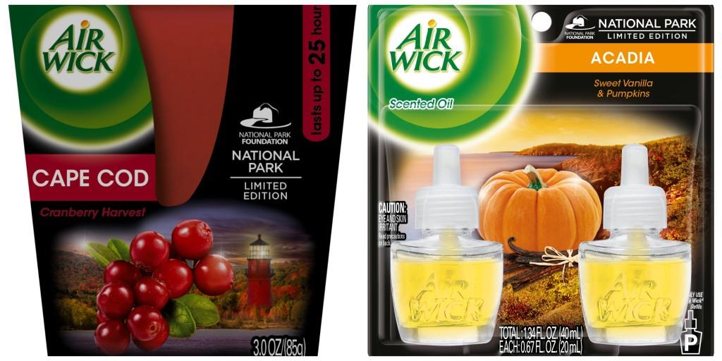 Air Wick National Park Fragrances