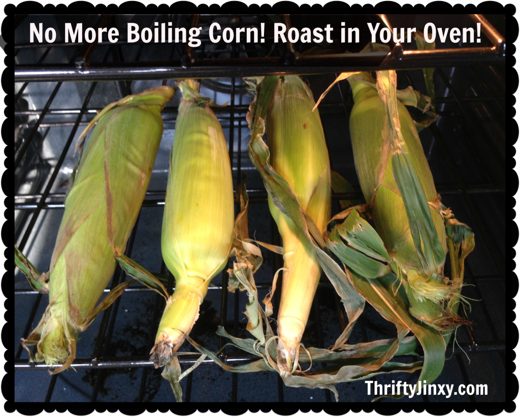 How to Roast Corn on the Cob in the Oven