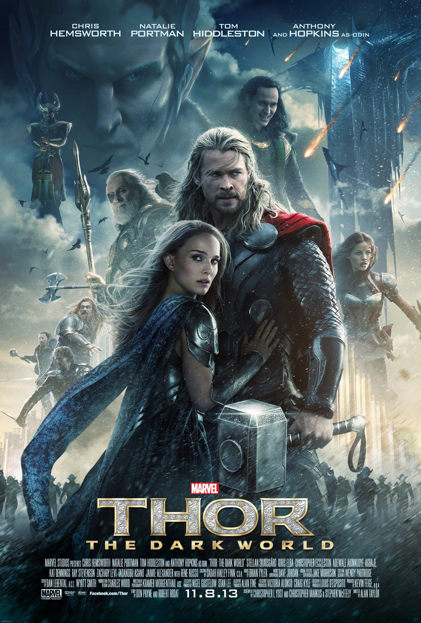 See the New Marvel's THOR: THE DARK WORLD TV Spot