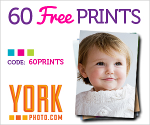 60 FREE Photo Prints from York Photo!