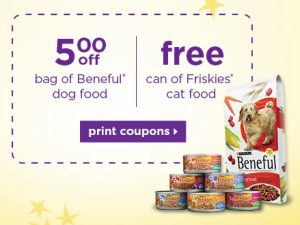 FREE Can of Friskies Cat Food at Petco