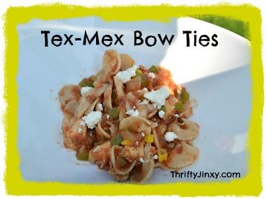 tex mex bow tie pasta