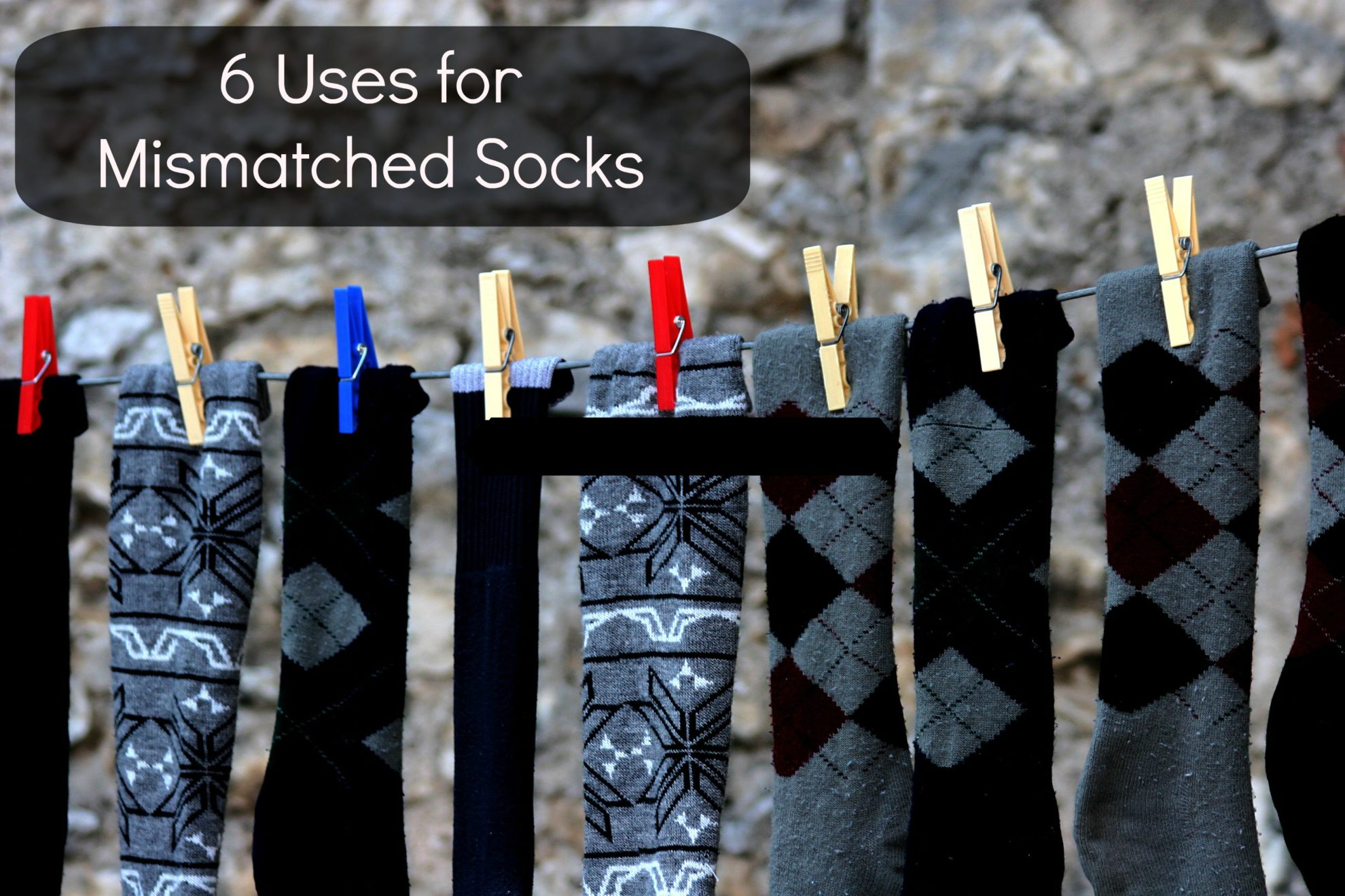 uses for mismatched socks
