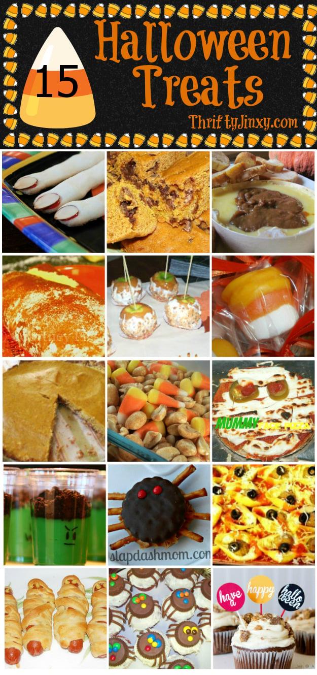 15 Halloween Treats Recipes