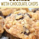 BREAD CRUMB COOKIES WITH CHOCOLATE CHIPS (1)
