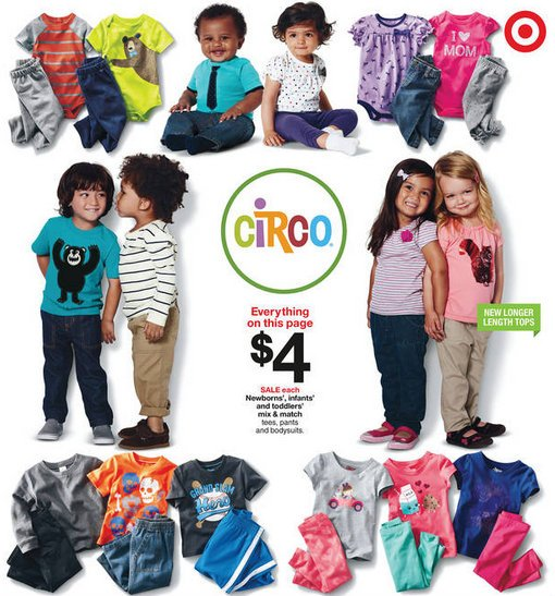 Circo Kid's Clothing only $3.40 Each at Target with Sale and Cartwheel Savings!
