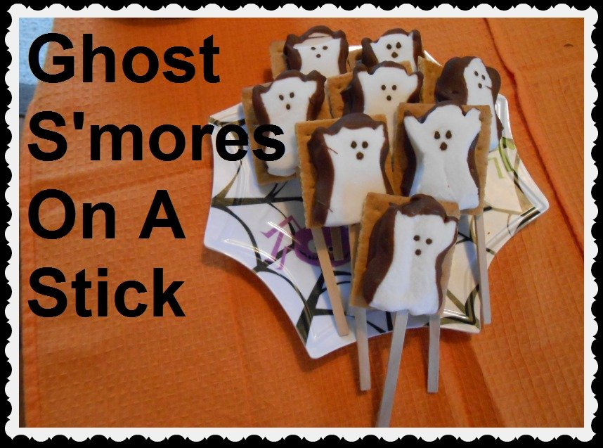 Halloween S'mores Recipe – Some Ghostly Fun!