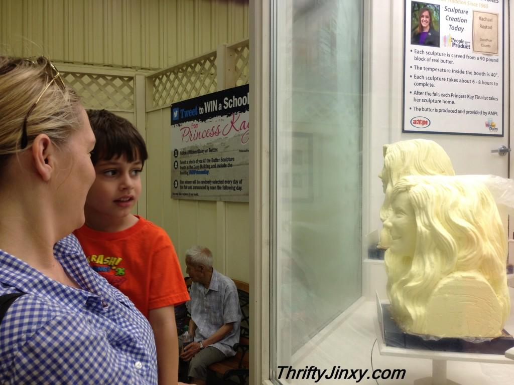 Minnesota State Fair Butter Head Sculpture #shop