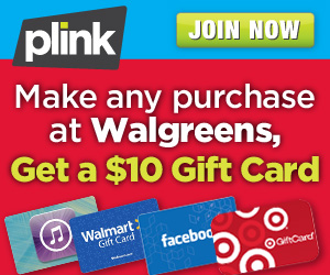 Wow! $10 Walmart, Target or Amazon Gift Card with ANY Walgreens Purchase!