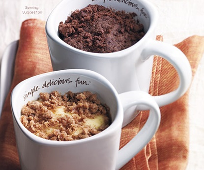 My Mug Cake from Tastefully Simple Review