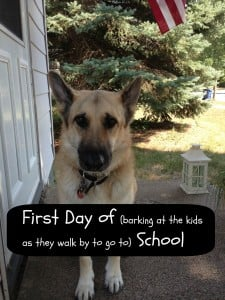 Wordless Wednesday:  First Day of School