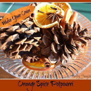 orange spice potpourri