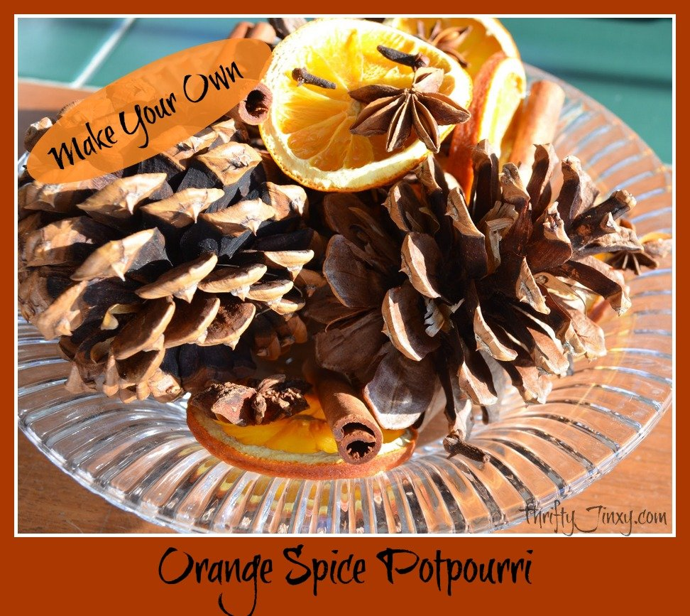 Homemade Orange Spice Potpourri – A Great Gift Idea