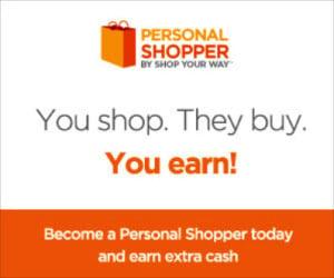 Shop Your Way Personal Shopper Program