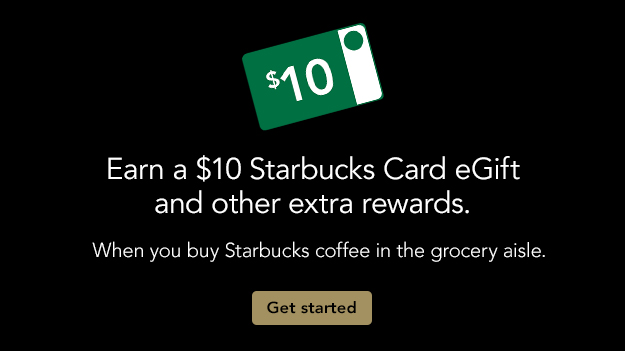 starbucks rewards card