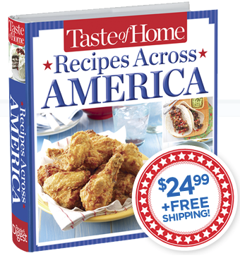 Taste of Home Recipes Across America Cookbook Review