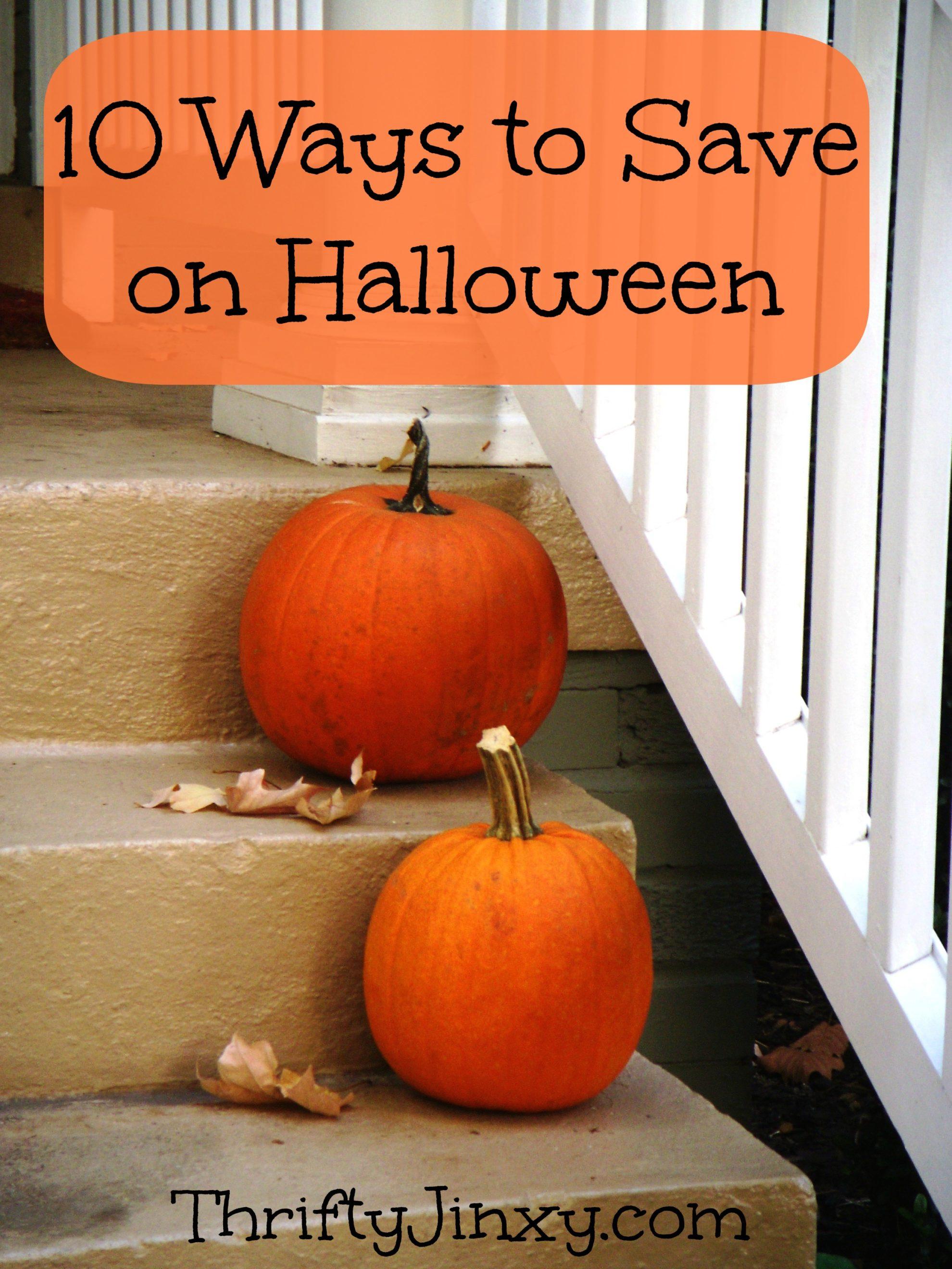 10 Ways to Save Money on Halloween