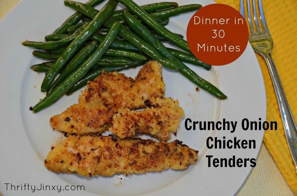 Crunchy Onion Chicken Tenders
