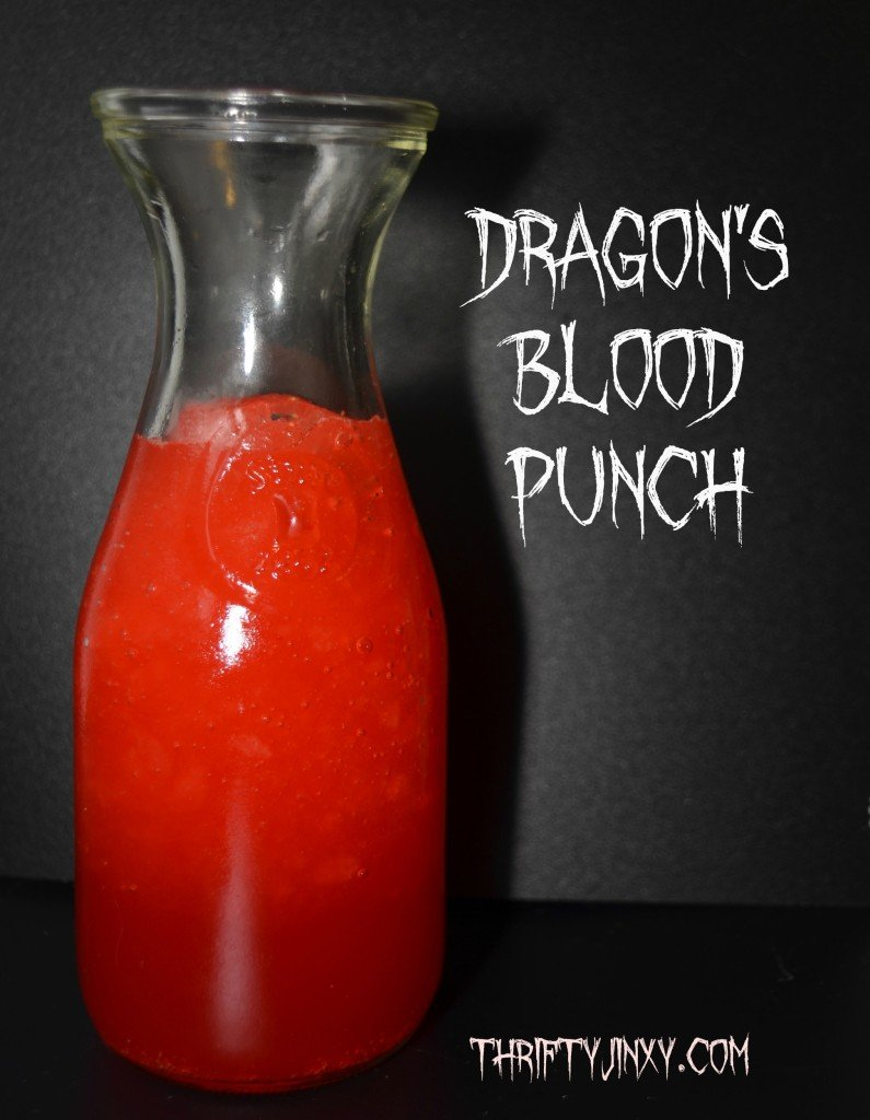 Dragon's Blood Red Halloween Punch Recipe