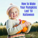 How to Make Your Pumpkins Last Until Halloween – 6 Simple Tips