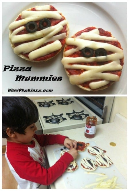 Pizza Mummies Recipe for Halloween