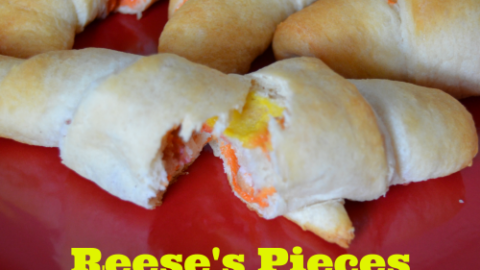 Reeses Pieces Roll-Ups