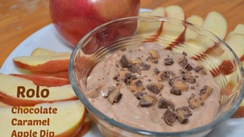 Rolo Chocolate Caramel Apple Dip