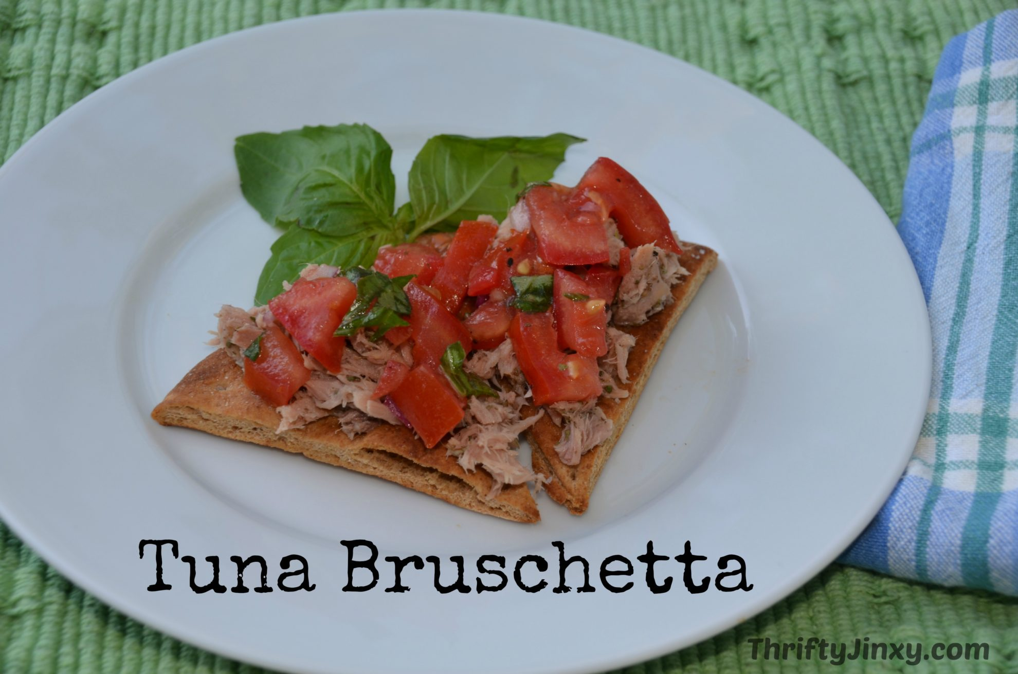 Tuna Bruschetta Recipe
