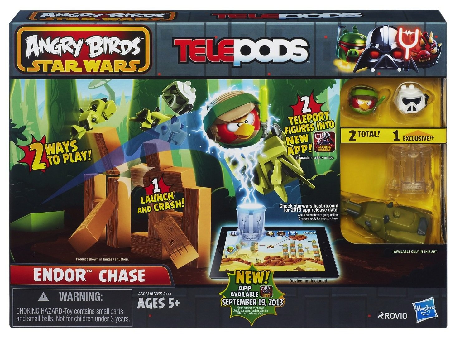 Angry Birds Star Wars Toys : Angry birds star wars telepods review and reader giveaway